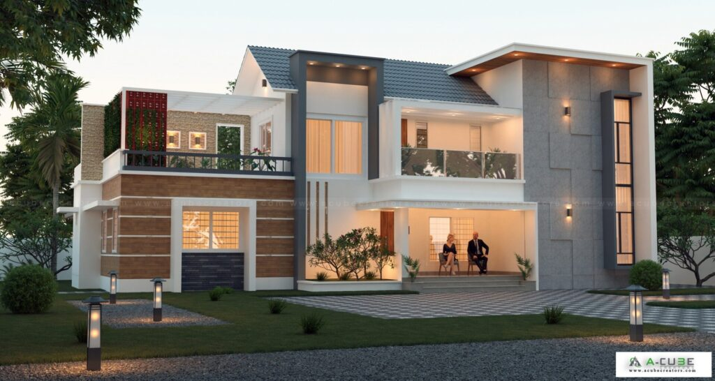 kerala contemporary house plans