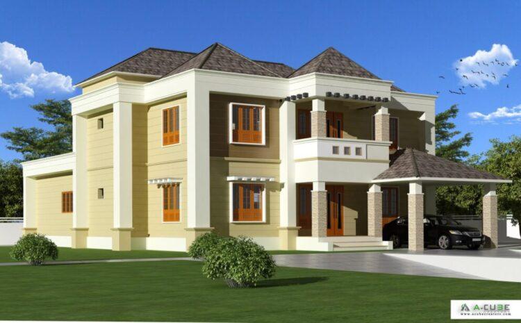 Colonial House Design Malappuram