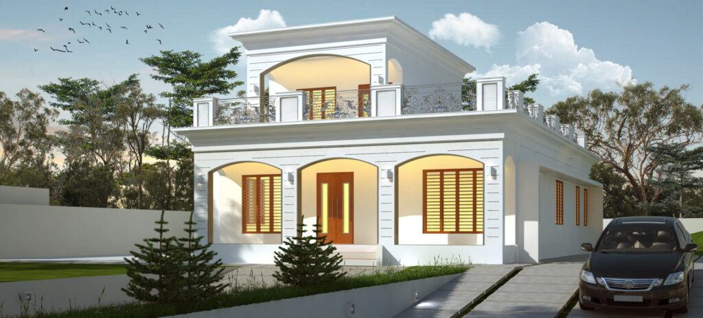 Contemporary Style House In Kerala