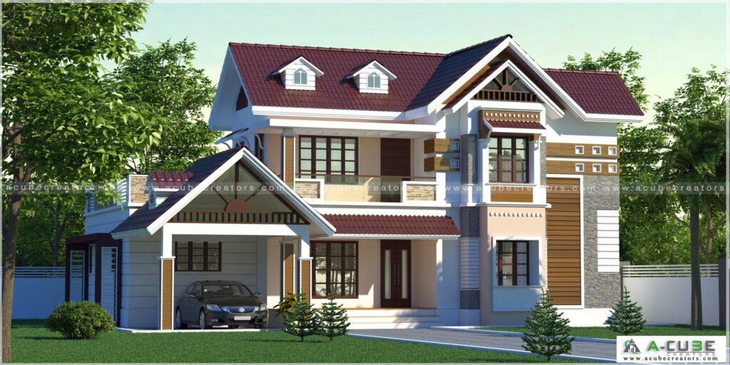 European House Design Kerala