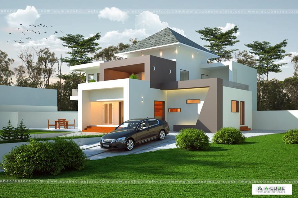 European House Plans Kerala