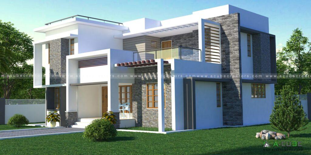 Simple Contemporary House Kerala