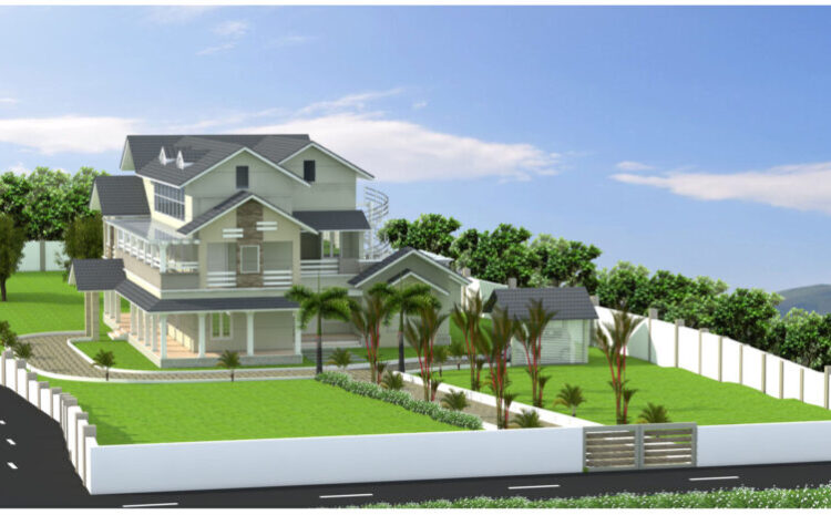 Colonial Style Home Kerala