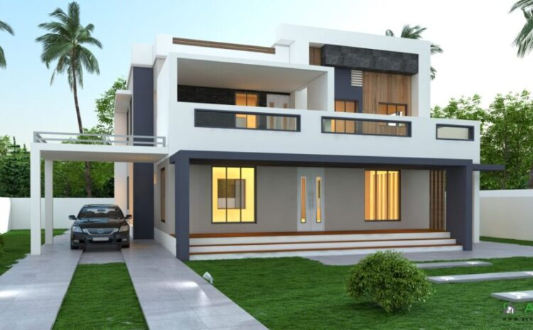 Simple Contemporary House In Kerala